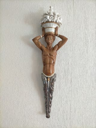 Figura pared Negrito Algora 52 cm