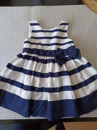 vestido de 3 -6 meses