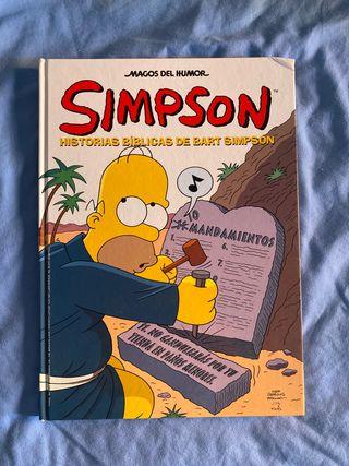Simpson. historias bíblicas de Bart Simpson.