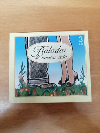BALADAS DE NUESTRA VIDA. ANTOLOGÍA. TRIPLE CD.