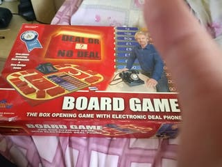 complete Deal or no deal board game used condition