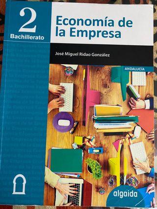 Libro economía 2 bachillerato algaida