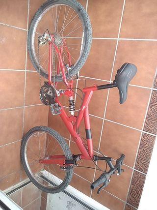 bicicleta de montaña doble suspension