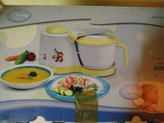 Robot Cocina Vapor Ariete Baby Chef Disney 992