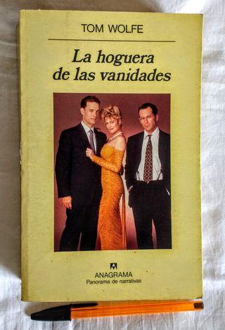 """Novela """"La Hoguera de las Vanidades"""" Tom Wolfe"""