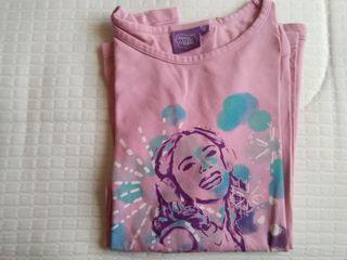 camiseta niña violeta de Disney