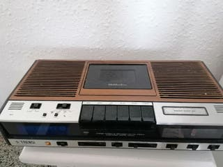 grabador voz radio cassette vintage 70