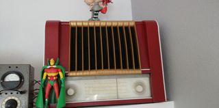 radio antigua marconi de valvulas