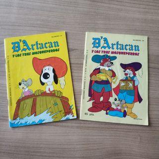 Comic D'Artacan y los tres mosqueperros