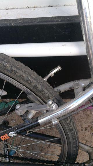 bicicleta montaña agrande de aluminio