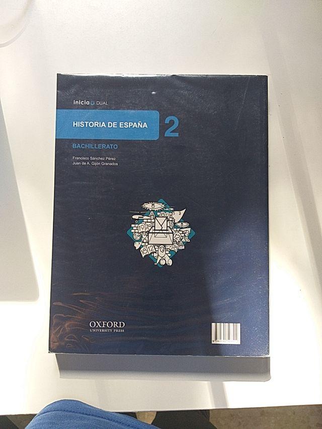 Libro de historia 2° Bachillerato Oxford