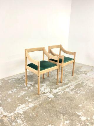 Pareja sillas butacas vintage