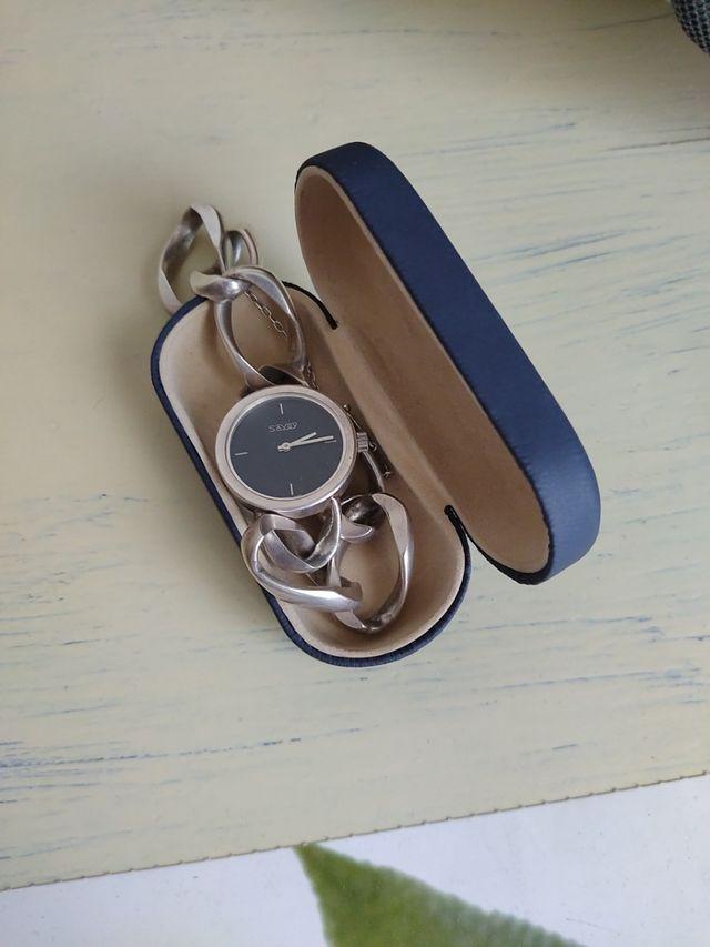 Reloj de plata a cuerda Savoy (mujer)