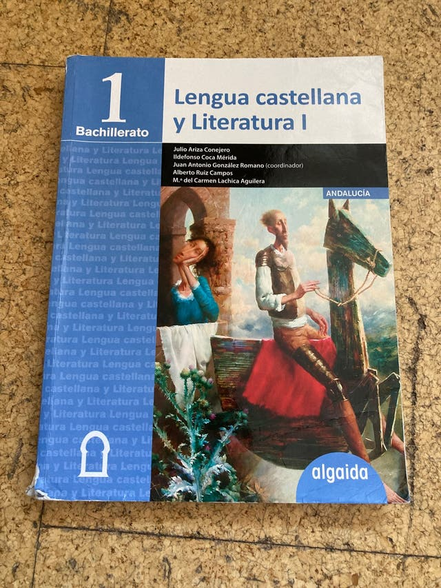 LIBRO DE LENGUA 1 BACHILLERATO