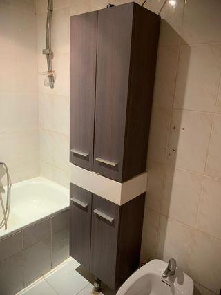 mueble de baño con lavabo y grifo
