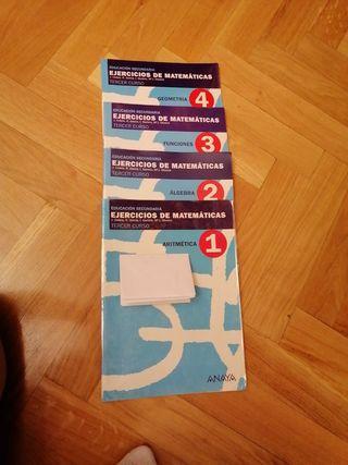 educación secundaria ejercicios de matemáticas