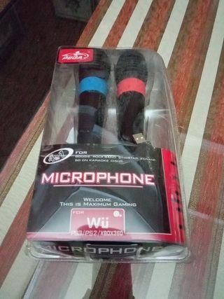 micrófono ,buen estado