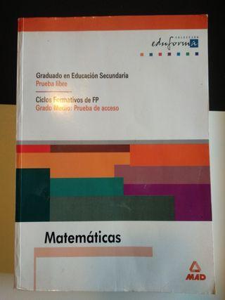 Graduado en Educación Secundaria Matemáticas