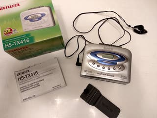 Radio cassette AIWA HS-TX416
