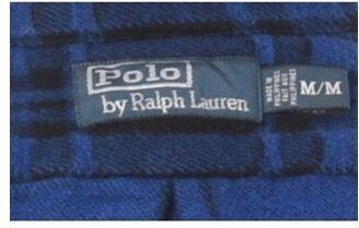 Camisa Vintage hombre Polo Ralph Lauren