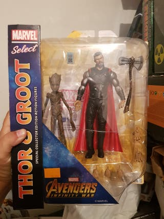 Lego Marvel Select Thor y Groot