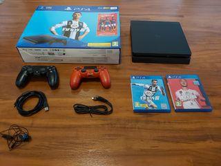 PS4 1 tb + 2 mandos.