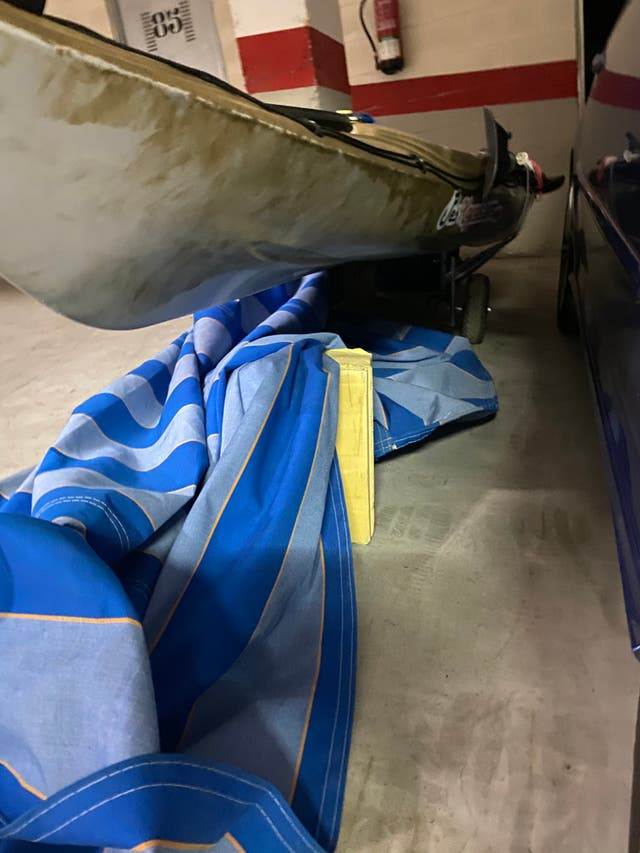 Kayak pesca con motor