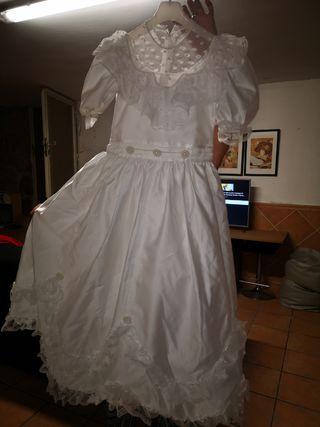 vestido de comunión y complementos