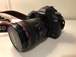Canon 5D Mark II + 2 lens + flash