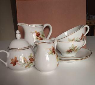 Juego de té vintage de Santa Clara