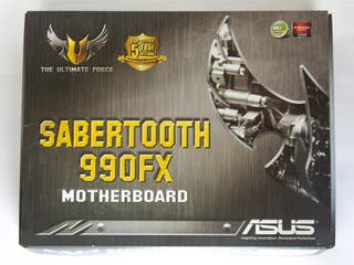 PLACA BASE ASUS SABERTOOTH 990FX AM3+ AMD TUF
