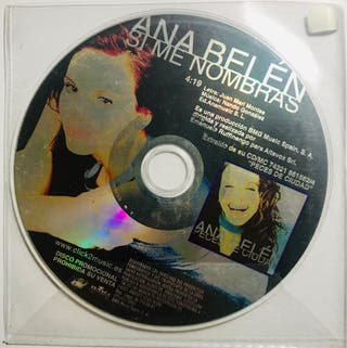CD Single Ana Belén Si me nombras