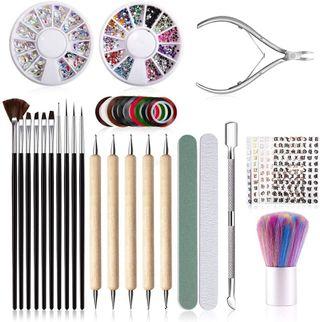 Kit de Herramientas para Manicura de Uñas