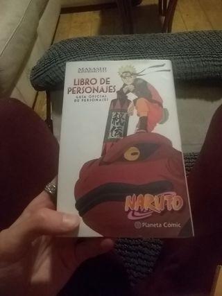 LIBRO DE PERSONAJES NARUTO