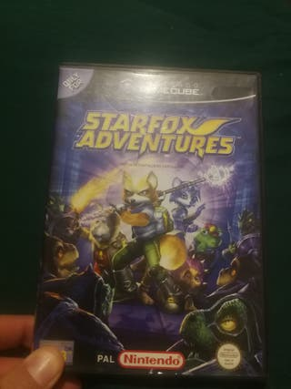 starfox adventures gamecube
