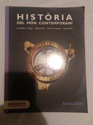 Libro història del món contemporani