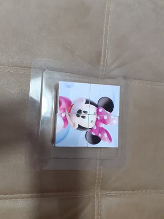Juego 8 cubos Mickey Mouse