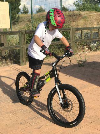 Clases de trial bici en Melilla