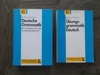 Libros gramática alemana.