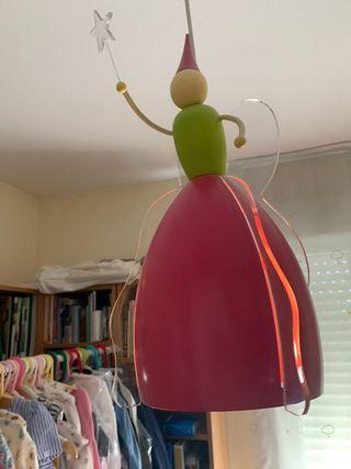 Lámpara de techo fantasía de hada