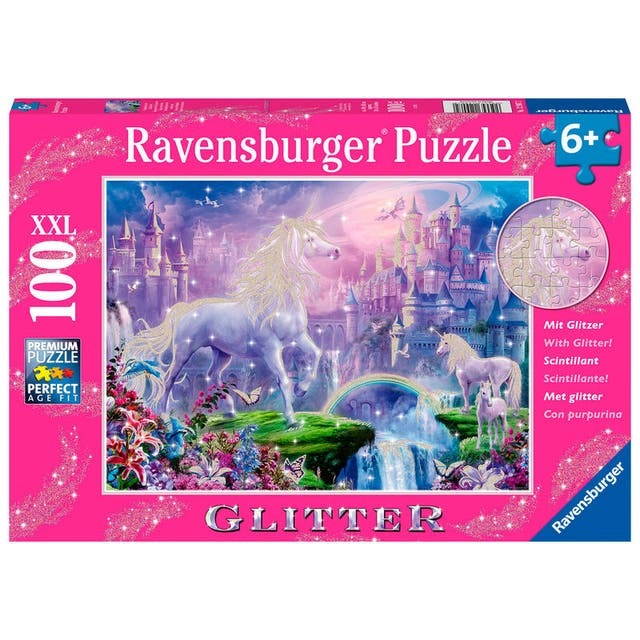 Puzzle Reino De Unicornios Xl 100Pz