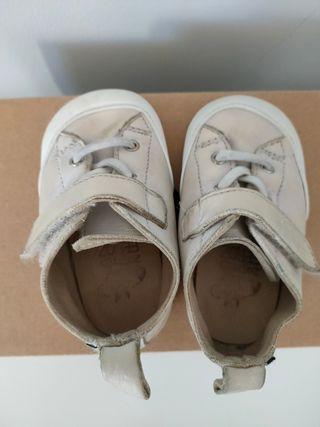 zapato feroz talla S Turia blanco