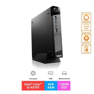 Lenovo ThinkCentre M93p Tiny - i5 - 4GB - 128GB