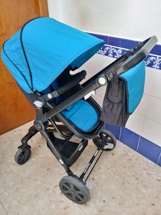 Carro + Portabebé Nurse Azul