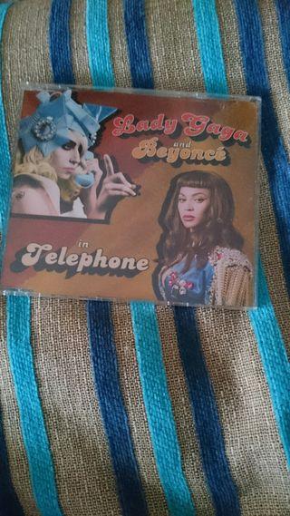 CD telephone Lady Gaga single promo