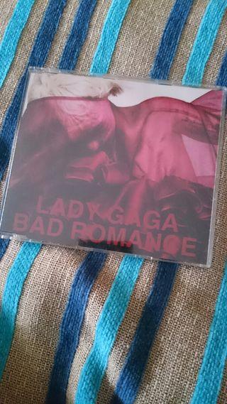 CD single Lady Gaga bad romance