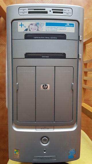 Despiece, desguace de torre ordenador HP de segunda mano por
