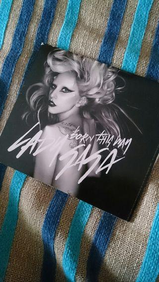 CD single Lady Gaga born this way