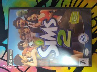 Los Sims 2 pc 4 discos y manual perfecto estado