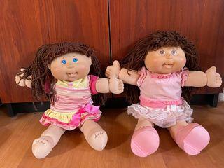 Muñecas repollo